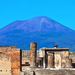 Passeio Pompeia + Vesuvio + Degustação de Vinhos