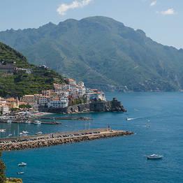 Amalfi Coast + Sorrento Tour by Deluxe Sedan
