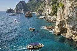 "Blue Sea Capri - The ""Classic"" Boat Tour around Capri"