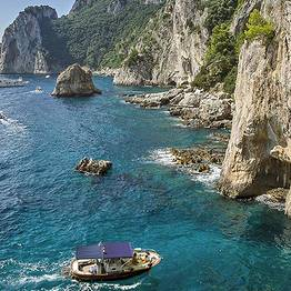 Luxury Speedboat Tour around Capri
