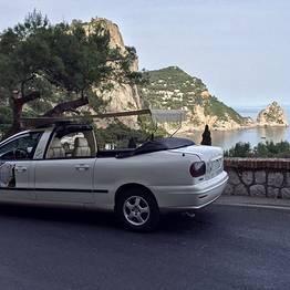 VIP transfer Roma - Capri (o viceversa) auto+motoscafo
