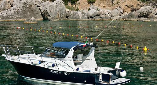 Le Arcate Boat - Giro dell'Isola + pranzo al ristorante x 2