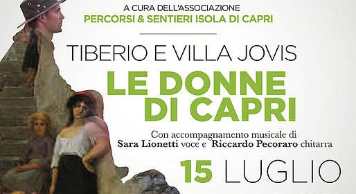 Caprionline - Le donne di Capri. Tiberio e Villa Jovis