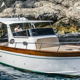 Capri + Costiera Amalfitana in barca