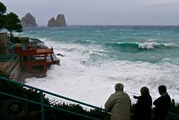 What's it like living on the island of Capri in the winter?