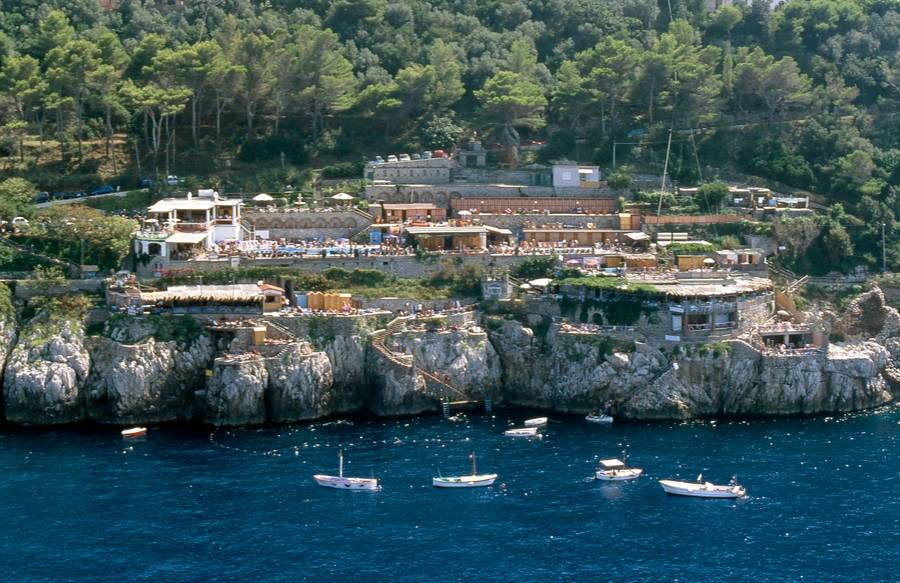 Free Beaches on Capri