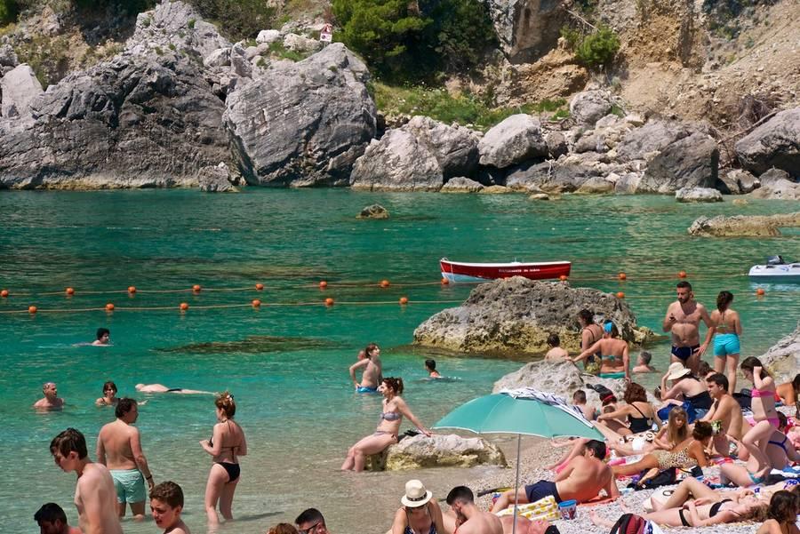 Guida alle spiagge libere di Capri