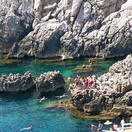 Free Beaches on Capri