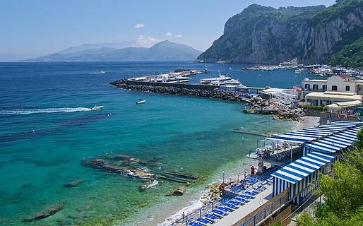 Beaches on Capri