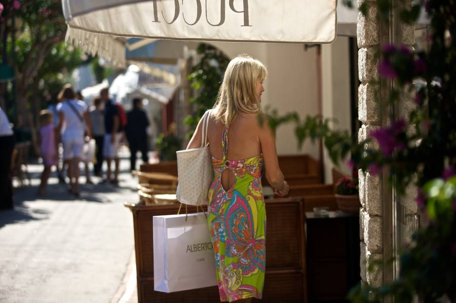 Shopping on Capri