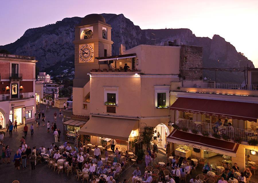 Nightlife on Capri