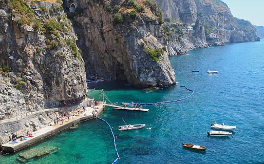 Le spiagge della Costiera Amalfitana