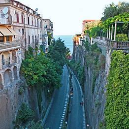 Itinerário a pé pelo centro de Sorrento