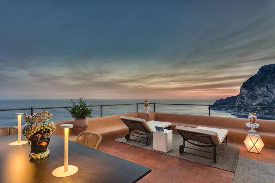 As 8 suítes de luxo mais incríveis de Capri