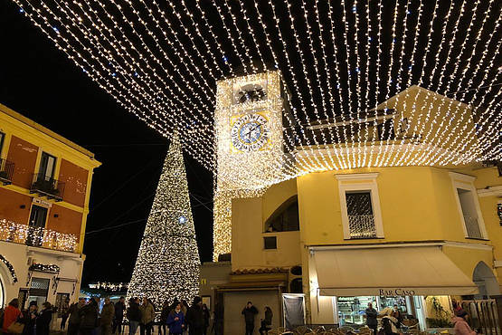 Capri in Rome Christmas Gala Hotel Palace Rendez Vous