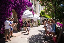 Celebrity Spotting on Capri