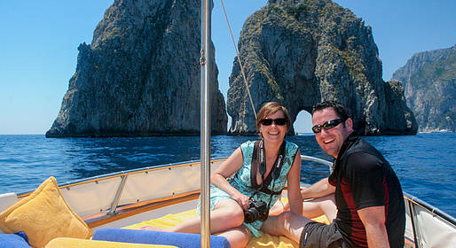Capri Boat + Walking Tour