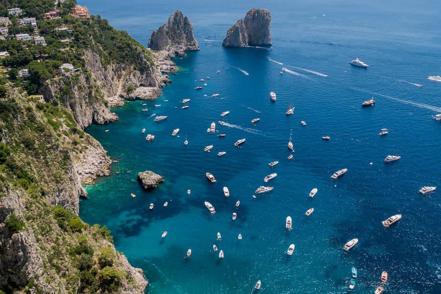 Guia para o aluguel de barcos em Capri