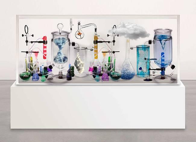 Liquid art system at CONTEXT NY 2016