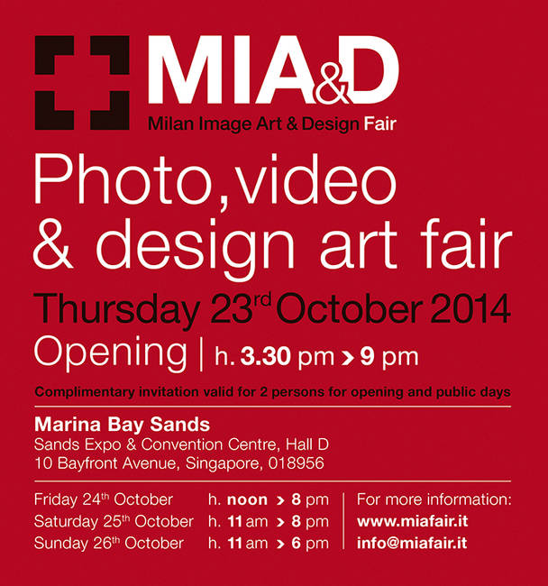 Liquid art system at MIA&D Singapore 2014