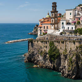 Visiting Amalfi from Sorrento