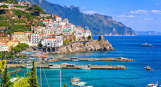 Tour Costiera Amalfitana Cartina.Costiera Amalfitana E Sorrento Dove Andare Itinerari Sorrento