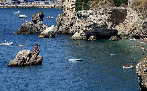Le spiagge libere di Sorrento