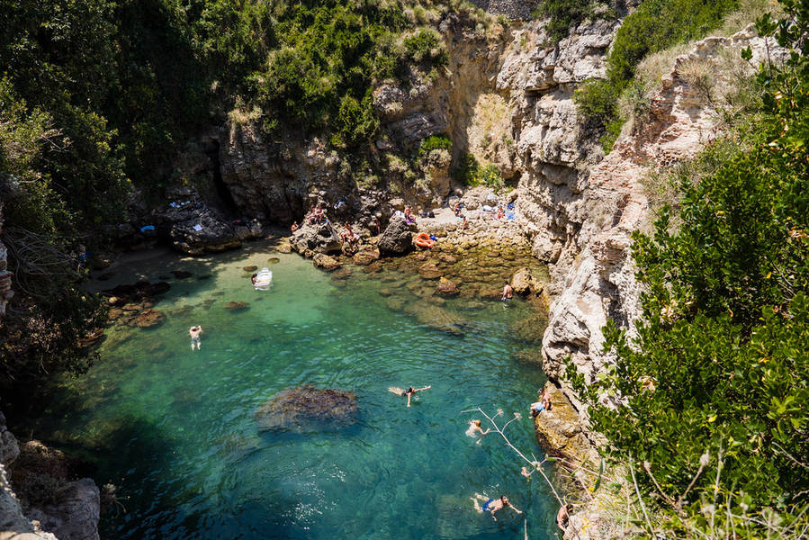 Free Public Beaches in Sorrento