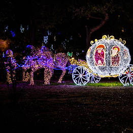 Visiting the Luci d'Artista Light Show in Salerno 2018-2019