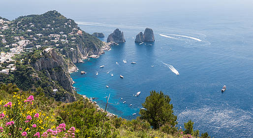 Capri in April