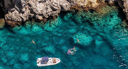 Capri in August