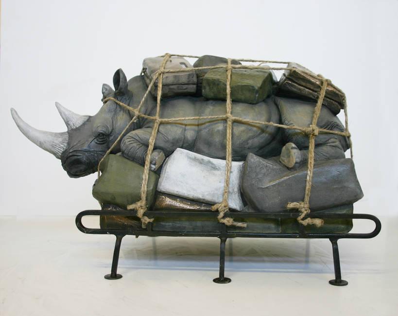 Bagaglio Rinoceronte medio