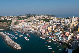 Visiting Procida from Ischia