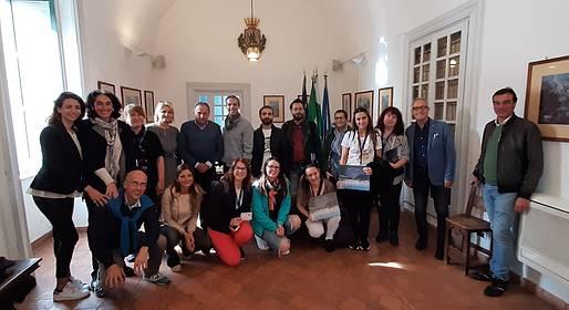 Il Sindaco riceve la Delegazione Erasmus in Comune