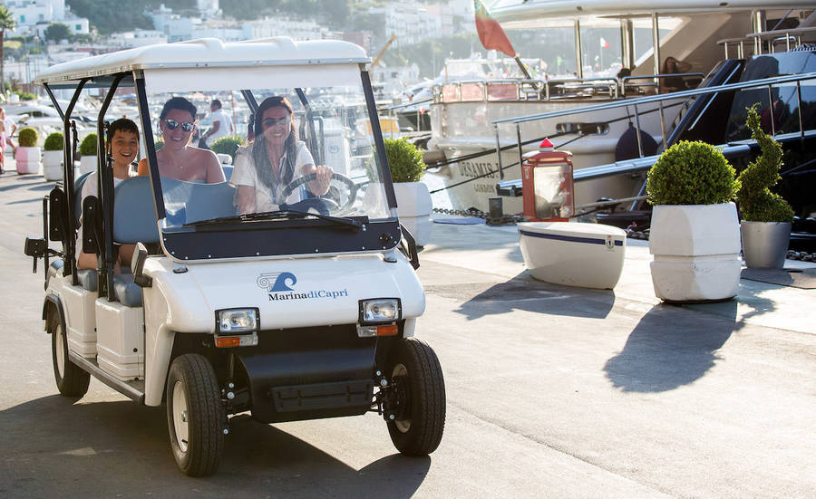 How to Reach Capri from Naples