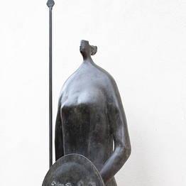 Guerriera in bronzo
