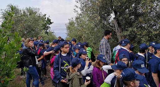 Gli alunni del Gemito di Anacapri a scuola di paesaggio con l'Oro di Capri