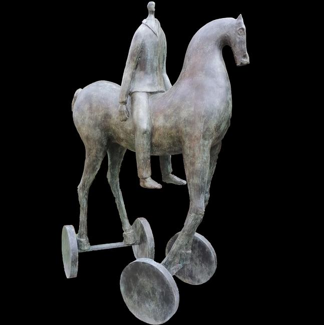 Cavallo con Cavaliere