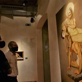 Roberto Ferri at MEAM - Museu Europeu d'Art Modern