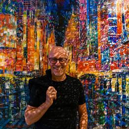 Sunset with the artist - Antonio Sannino