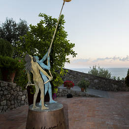 Sunset with the artist - Giacinto Bosco