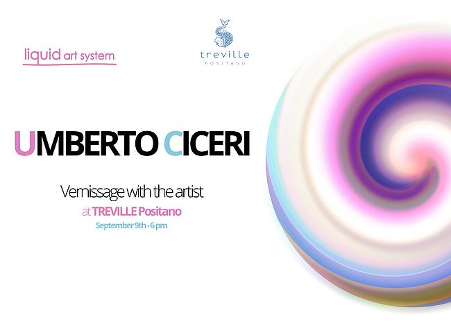 Sunset with the artist - Umberto Ciceri