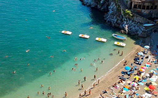 Le spiagge di Cetara