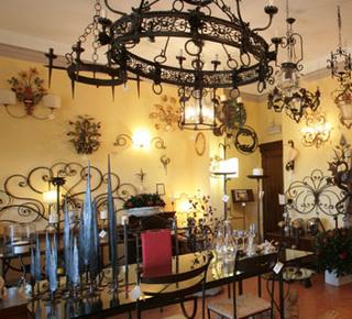 Ferro battuto artigianale artistico Hotel