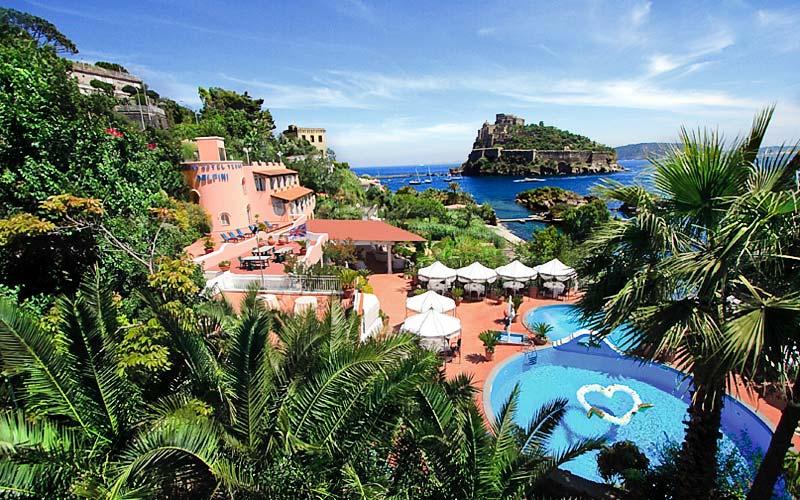 Delfini Strand Hotel Terme 4 Star Hotels Ischia
