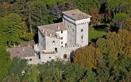 Castello di Magrano Historical Residences Gubbio
