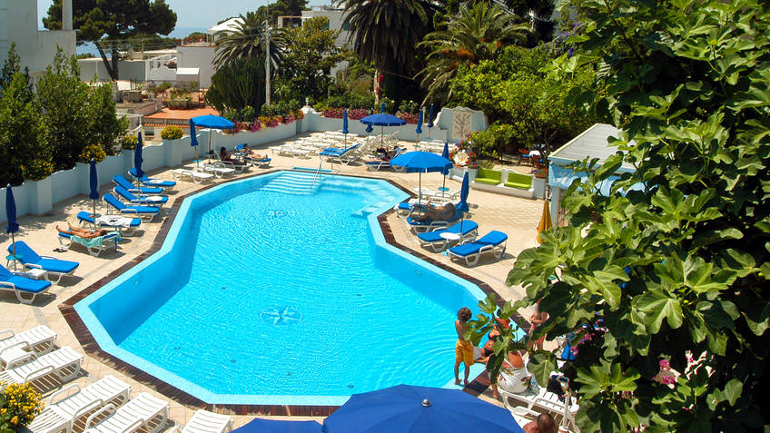 Hotel Villa Sanfelice 4 Star Hotels Capri