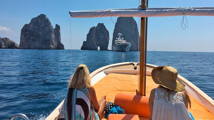 Capri Island Tour Excursions by sea Capri