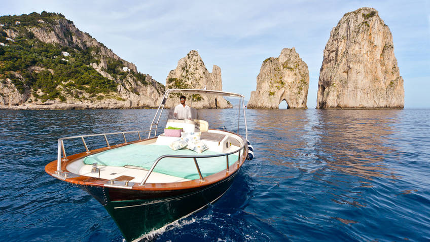 Capri Boat Service Excursions by sea Capri