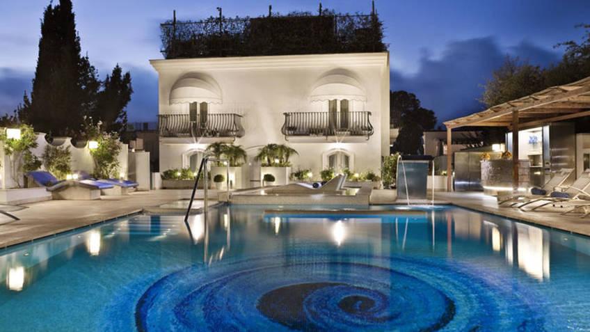 Hotel Villa Blu Capri 5 Star Hotels Anacapri